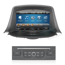 Car radio with gps system for peugeot 206 car dvd navigation