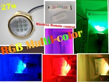 27w RGB LED boat underwater light/yacht light/marine light