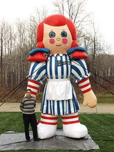 the top selling inflatable standing doll for advertising