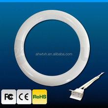 TUV round tube Hot Sale Manufacturer 12W 16W 18W 20W LED ring Tube light t9 18w