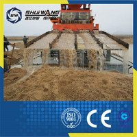 Africa used low consumption gold screening plant