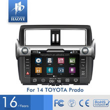 Factory Supply Professional Supplier Car Dvd Player With Gps Navigation For Toyota Prado