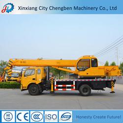 Chinese Left Hand Drive Trucks Reasonable Mini Crane Price