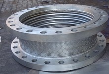 Flanged Metal expansion joint and large compensator bellows corrugated pipe