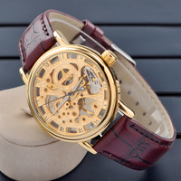 Good quality lady watch cheap price silicone automatic mechanical watch