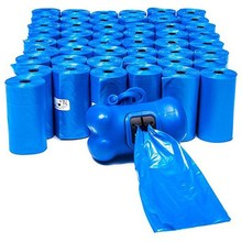 Factory competitive price dog poop bags, dog pet waste bags