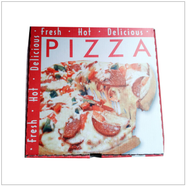 Wholesale custom Corrugated paper Pizza box / pizza packing box