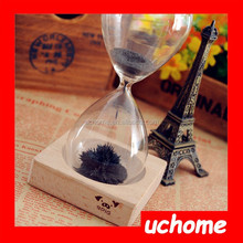 UCHOME Promotion Gift 60 Seconds Timer Magnet Hourglass/Sand Timer/Time Timer