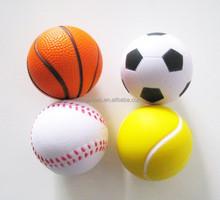 6.3cm PU sports ball volleyball /football/basketball/Golf PU ball