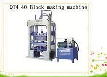QT4-40 Easy mantenance concrete block making machine