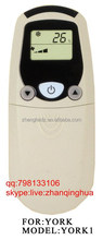 White ac controller 3 Keys +some buttons under the clamshell A/C REMOTE CONTROL for YORK 1 Air conditioner remoter not universal