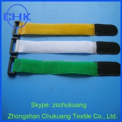 2015 Hot-selling Printed Back to Back Velcro Cable Tie
