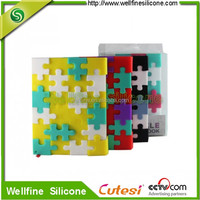 Mini Snow DIY puzzle silicone sleeve for notebook