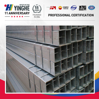 weight of gi aluminum square pipe fittings