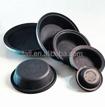 circular rubber diaphragm