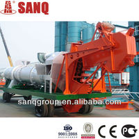 Hot Sale!!!25 t/h DHB25 Mobile Asphalt Mixing Plant Portable Asphalt Hot Batch Plant Bitumen Mixing PlantGOST CE&BV