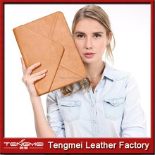 """Envelope Leather Bag For Macbook 13"""" laptop With Retina,For Leather Macbook Case,For Macbook Pro/Air Leather Bag"""