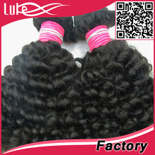 Guangzhou luke human hair,new product&style perfect kinky curly hair extensions,full fix hair buy cheap peruvian hair online