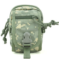 Waterproof Small Field gearTACTICAL molle admin pouches belt bags waist bagsoutdoor military hunting pouches small