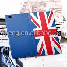 High quality OEM logo debossed flag phone cover for iphone 6