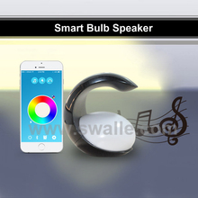 hot new products in shenzhen portable wireless mini bluetooth speaker led lamp led lights for home from china swalle
