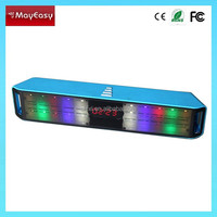 2015 square Bluetooth mini speaker,audio Bluetooth speaker for mobile phone with coloful LED light