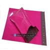 colorful plastic pink mailing bags for packing
