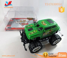 high speed cartoon car friction power offroad racing car