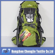 Outdoor Sport Hiking Camping Travel Big Backpack Daypack High Capacity good Quality Hiking Bag With Rainproof Cover 2015