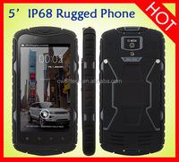 Hot sale 5.0 Inch touch screen 1GB RAM 8.0MP Camera rugged waterproof Jeep J6 IP68 phone