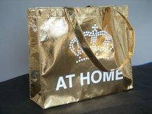 Recycle Non Woven laminated Metallic Shopping Bag