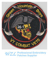 Hot selling Embroidered Patches motorcycle patch for clothing