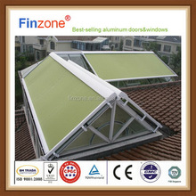 Alibaba china hot sale porch retractable folding arm awning