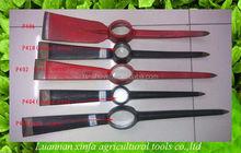 garden tools steel pickaxe