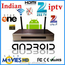 Factory indian iptv set top box for Quad Core andorid allwinner A31s android smart tv converter box with 3d movies free download