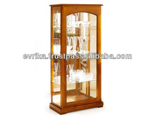 Wooden glass case