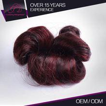 Good Quality Soft 100% Raw Fashion Top Human Average Price Hair Coloring
