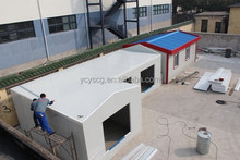 Factory price beautiful prefabricated house