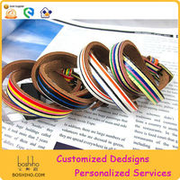 Leather hand bands