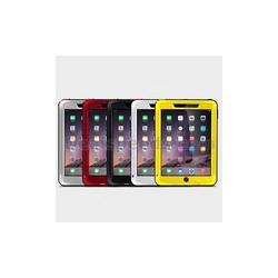 LOVE MEI Waterproof Shockproof Powerful Metal+Aluminium+Gorilla Glass Hybrid Case for iPad Air 2