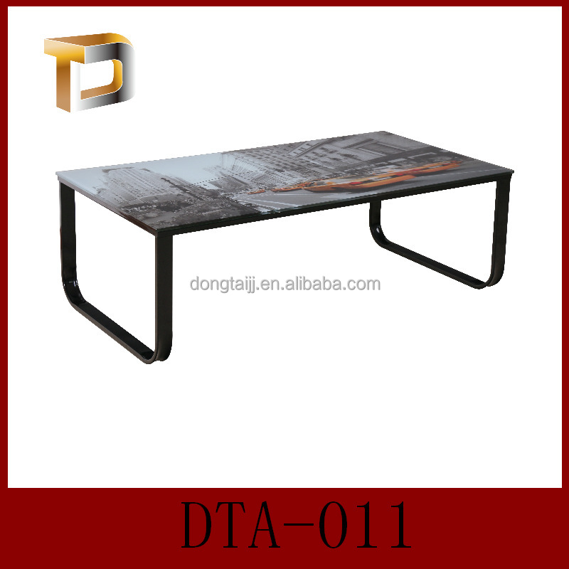 Dta 011 Animal Tempered Glass Coffee Table