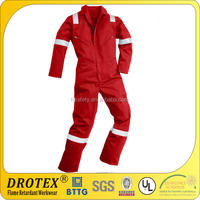 higher qualily fire resistant fleece fabric and water repellent workwear coal and oil uniform