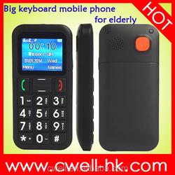China old man senior elderly bluetooth 3.0 big button torch light Dual sim cellphone