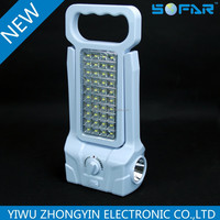 7612 Hot sales new style led rechargeable emergency lights 220v , led portable emergency light