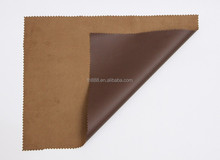 pvc coated polyester faux suede synthetic fabric for sponge mat
