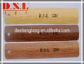 venta caliente 25mm de grano de madera lamas de aluminio para persianas