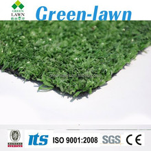 fibrillated yarn stadium project artificial turf for golf ,tennis grass --G003