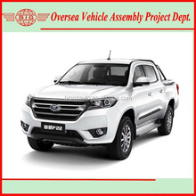 high-end 4wd double cabin pickup with a minimum ground clearance of 200mm (skd/ckd kits available for assembly)