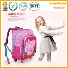 Kids fancy travel trolley bag