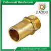 forged brass reducing hose barb nipple pipe fitting